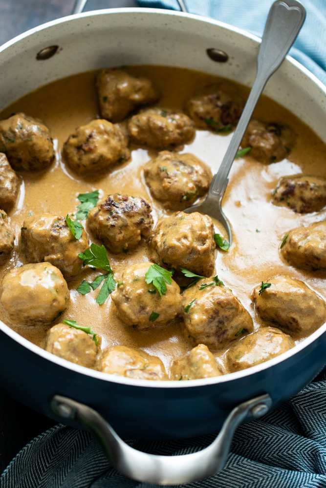 what to serve witth ikea Swedish meatballs